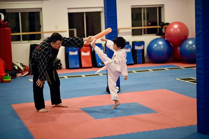 child-kicking
